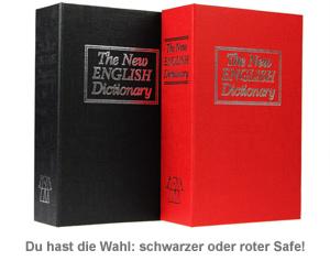 Buch Safe - 3