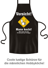 Schürze - Mann kocht - 2