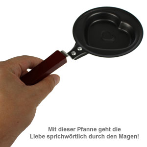 Mini Herz-Bratpfanne - 2