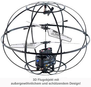3D Hubschrauber Flugobjekt - ferngesteuert - 3