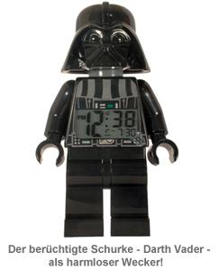 Lego Star Wars Wecker - Darth Vader - 3