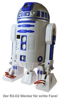 Star Wars R2D2 Wecker mit Zeitprojektion - 4