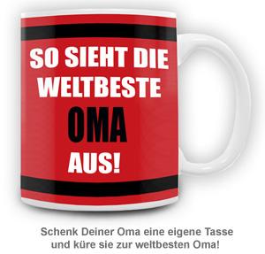 Tasse - Weltbeste Oma - 2