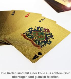 Goldenes Kartenspiel - 2