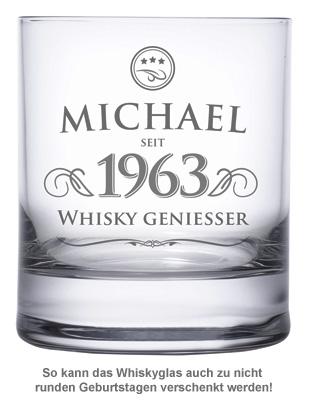 Personalisiertes Whiskyglas - Elegant - 2
