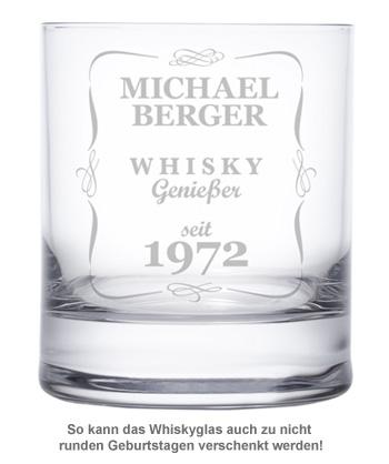 Personalisiertes Whiskyglas - Klassisch - 2