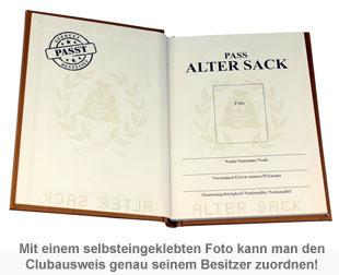 Clubausweis der Alten Säcke - 2