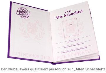 Clubausweis der Alten Schachteln - 3