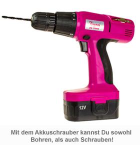 Tussi on Tour Akkuschrauber - 2