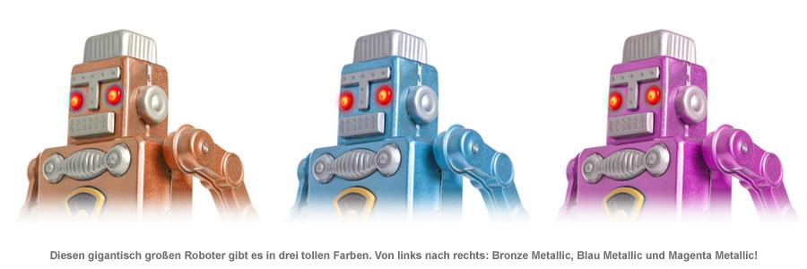 Riesen Roboter - ferngesteuert - 3