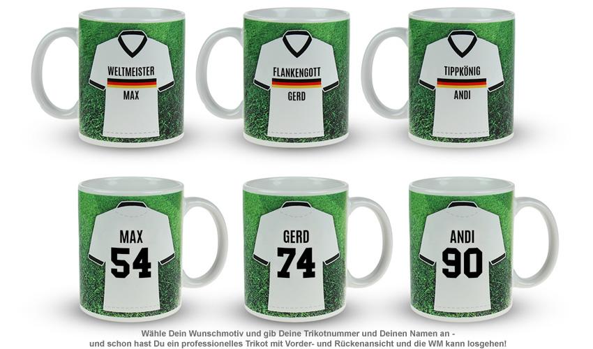 Fußball Tasse - Weltmeister - 2