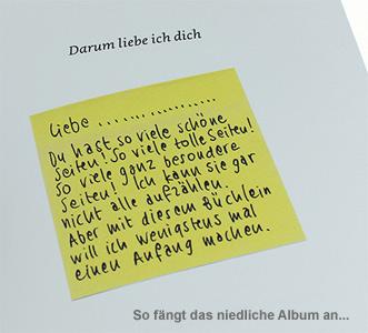 Erinnerungsalbum - Darum liebe ich dich - 2