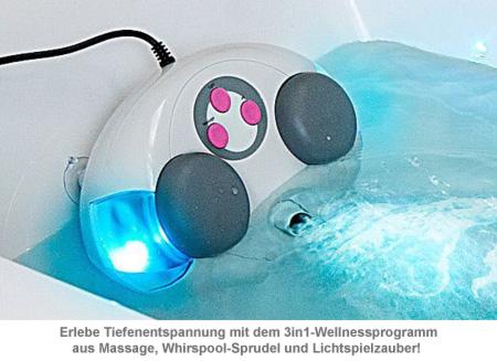 Massagegerät für die Badewanne - 3in1 Wellness - 3
