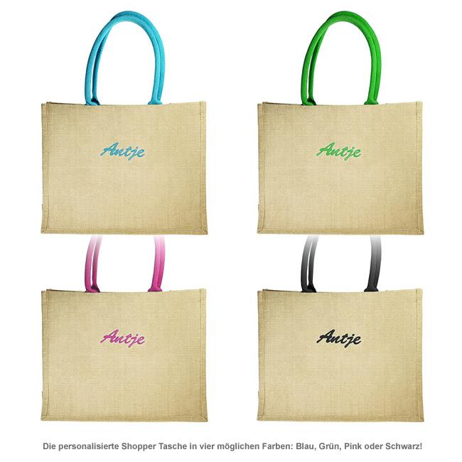 Shopper Tasche - personalisiert - 2