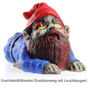 Zombie Gartenzwerg - kriechend - 2