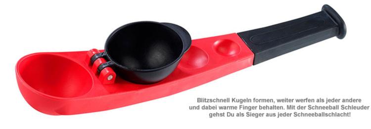 Schneeball Schleuder - 2