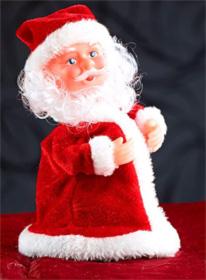 Tanzender Mini Weihnachtsmann - 3