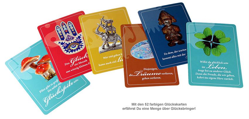 Alles Glück dieser Welt - Box mit 52 Glückskarten - 2