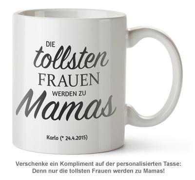 Personalisierte Tasse - Beförderung zur Mama - 2