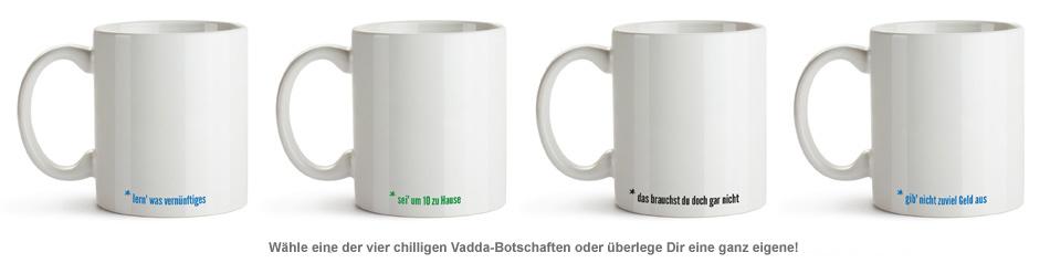Personalisierte Tasse - Hör auf Deinen Vadda - 3