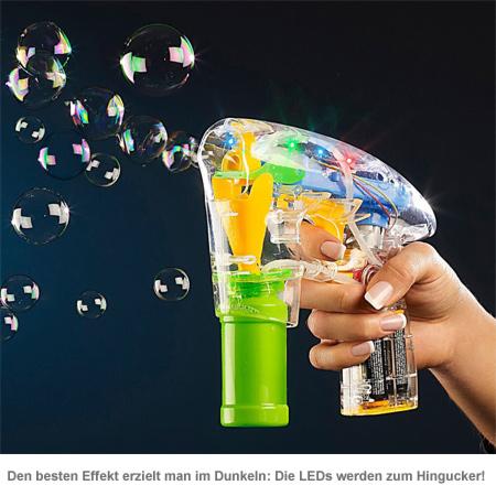 Seifenblasenpistole mit LED Beleuchtung - 2