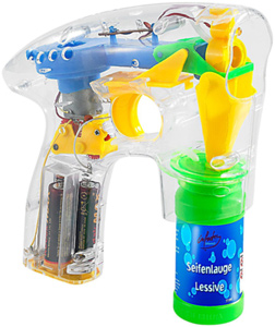 Seifenblasenpistole mit LED Beleuchtung - 3