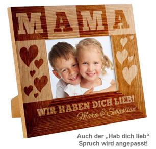 Personalisierter Bilderrahmen für Mama - 3