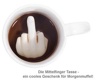 Mittelfinger Tasse - 2