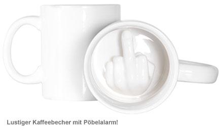 Mittelfinger Tasse - 3