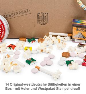 Original BRD Süßigkeiten Box - 14-teilig - 3