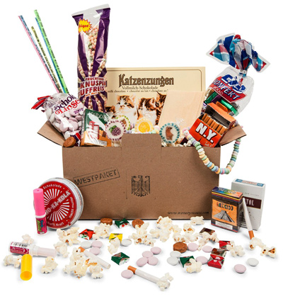 Original BRD Süßigkeiten Box - 14-teilig - 5