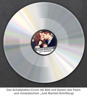Silberne Schallplatte - Hochzeitsbild - 4
