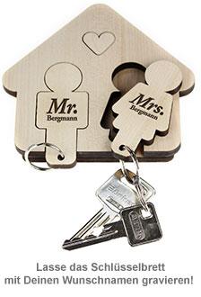 Schlüsselbrett - Mann & Frau - 2