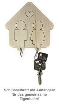Schlüsselbrett - Mann & Frau - 3