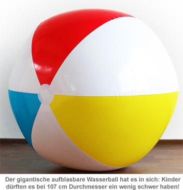 Riesen Wasserball XXL