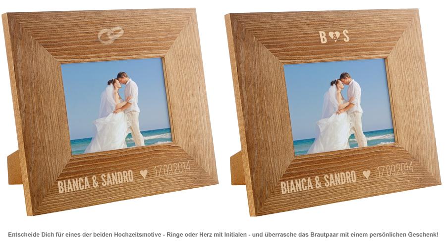 Personalisierter Bilderrahmen zur Hochzeit - 2