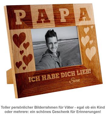 Personalisierter Bilderrahmen für Papa - 2