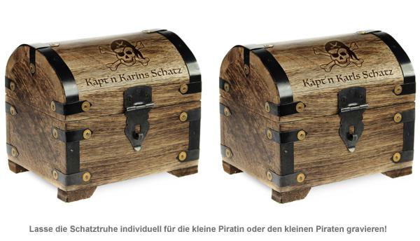 Geld Schatztruhe Piratenschatz - Dunkel - 2