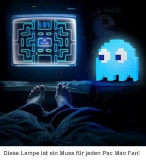 Pac Man Lampe mit LED-Farbwechsel - 3