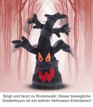 Tanzender Geisterbaum mit Sound - 2