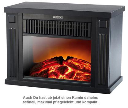 elektrischer kaminofen mini edition 1200w elektro kaminfeuer. Black Bedroom Furniture Sets. Home Design Ideas