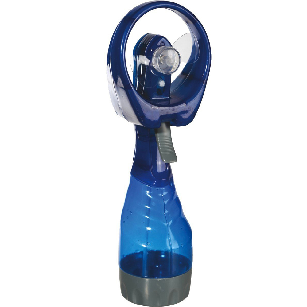 Ventilator mit Sprühflasche 2in1 Abkühlung Wind und Wasser
