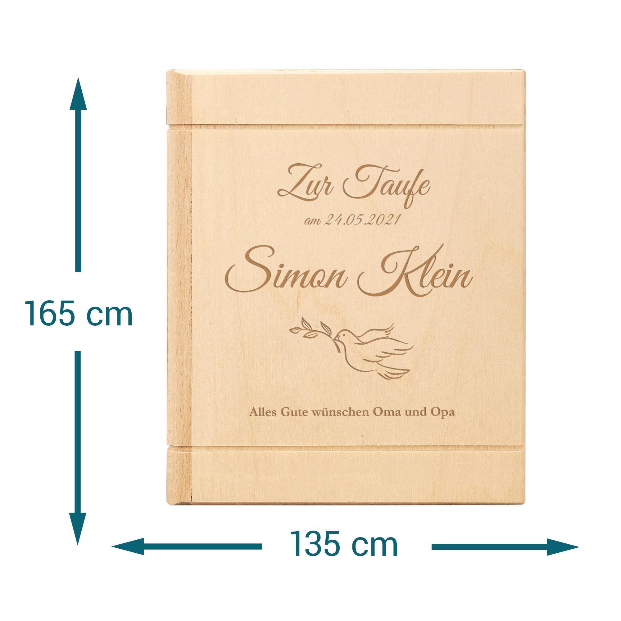 Taufe sparbuch verpacken zur wie Personalisiertes Sparbuch
