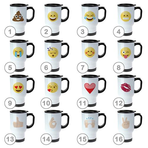 Thermobecher - Emoji - 2