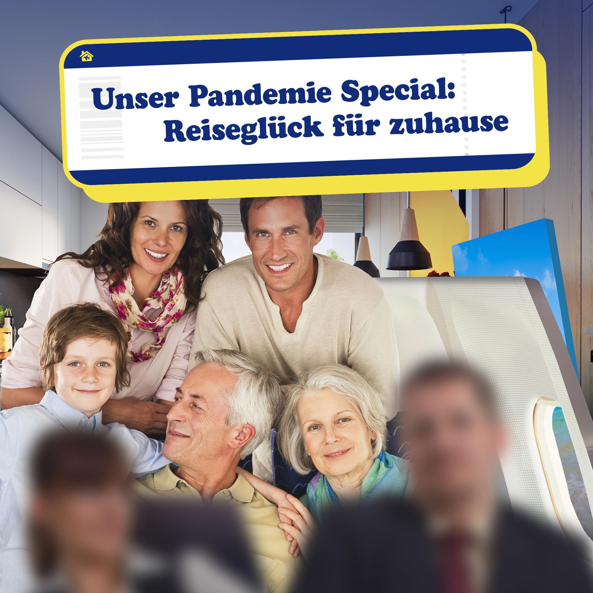 Intensiver Flug-Reisetag für Zuhause - Pandemie Special - 2
