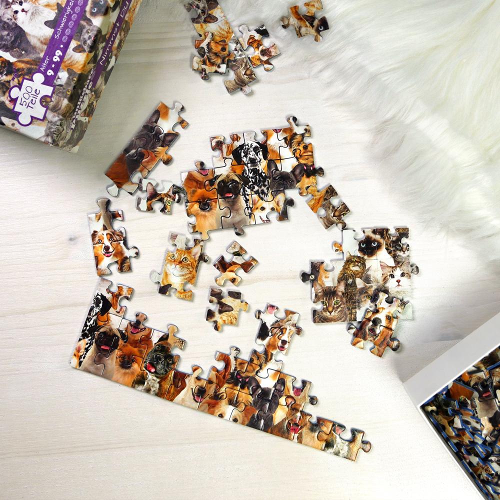 Das unlösbare Puzzle - Hunde und Katzen - 2