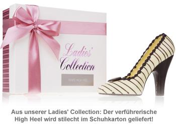 Schokolade - High Heel Weiß - 3