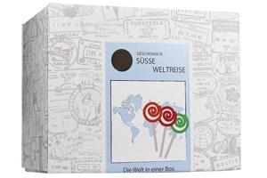 Süße Weltreise - Geschenkbox - 3
