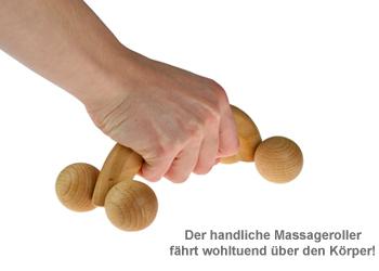 Massageroller mit Gravur - 2