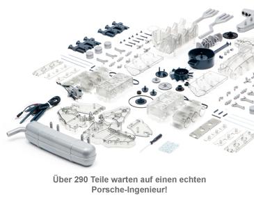 Porsche Motor Bausatz - 290 Teile - 2